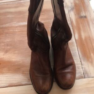 Brown Frye Boots Size 7